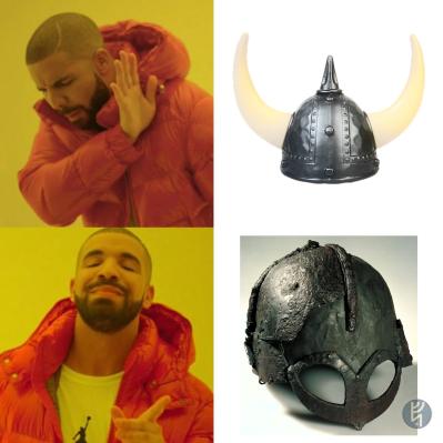 Viking Helmet Meme